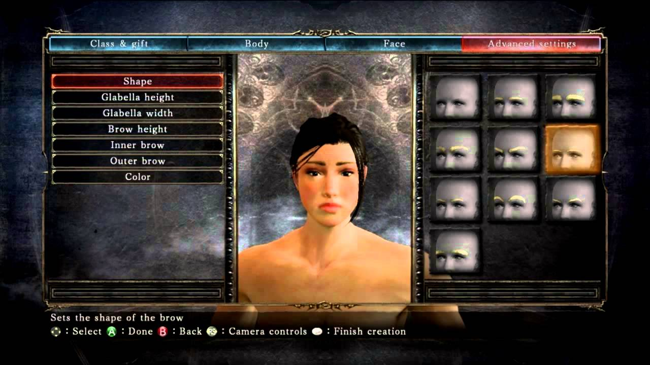 Dark Souls 2 - How to create a beautiful female face 「ダーク ...