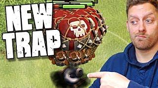 NEW MAX Tornado Trap vs All MAX Air Troops | Clash of Clans