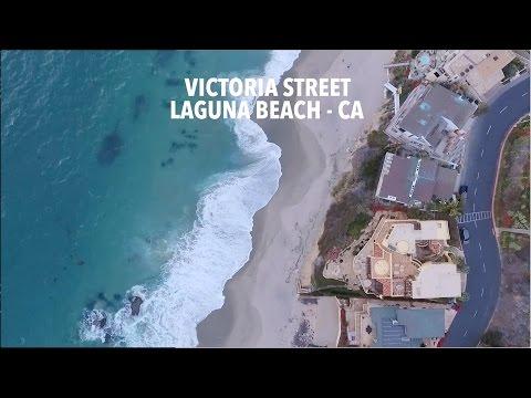 DJI Phantom 4 - Laguna Beach, Victoria Dr Flight
