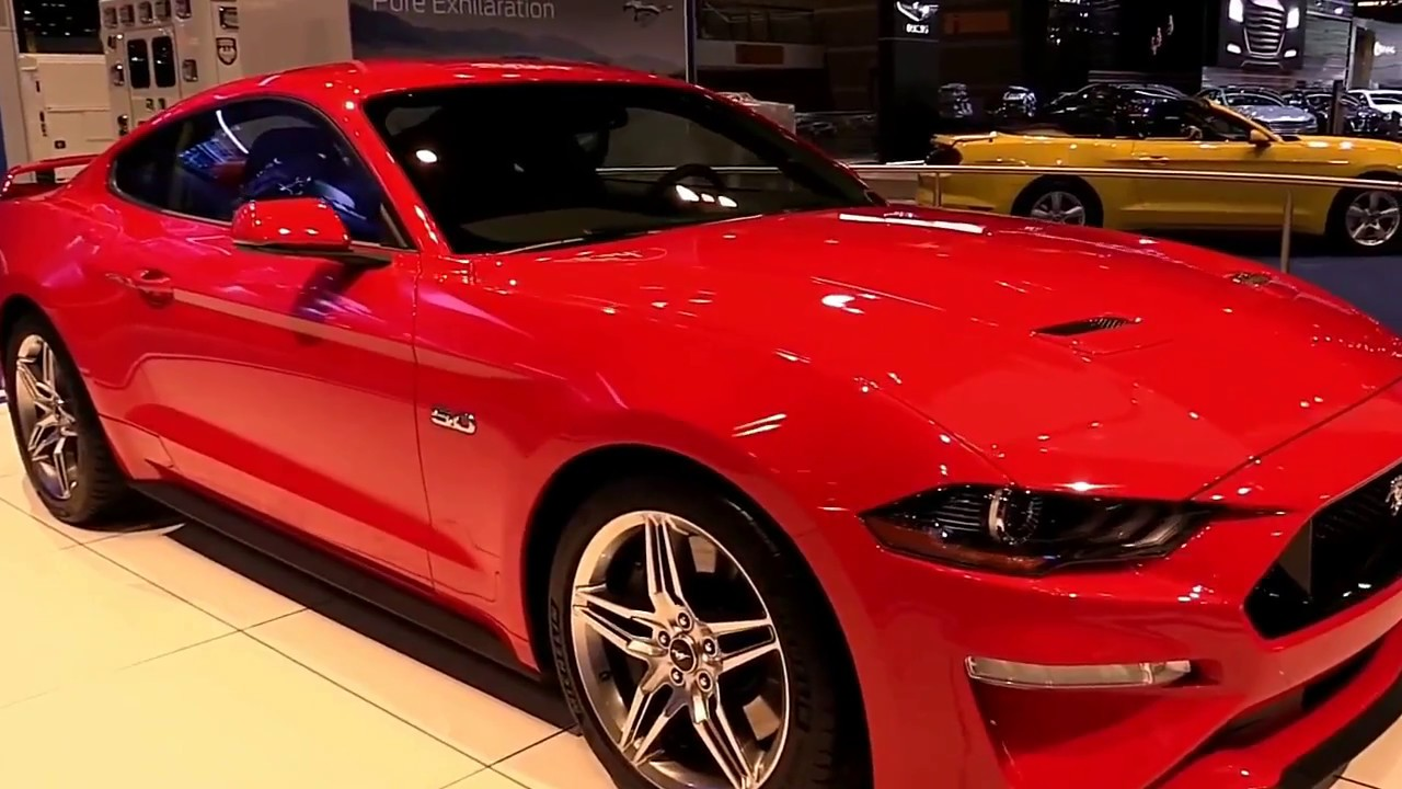 2018 Mustang Mach 1 >> 2018 Ford Mustang Mach 1 Limited Edition Exterior And Interior