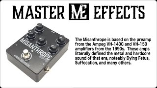 Master Effects - Misanthrope - Ampeg VH-140c In a box