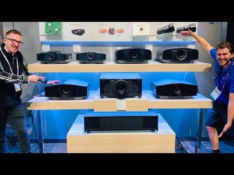Native 4K Sony Laser Projectors!? 5000es 995es & 885e... It's getting serious |CEDIA 2019