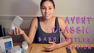 AVENT BOTTLES REVIEW AND TIPS! | ItsKaysWorld