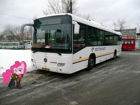 Поездка на автобусе Mercedes-Benz Türk O345 Conecto H (МТА) ВХ 325 50 Маршрут № 142 Железнодорожный