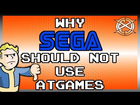 Sega Mega Mini Announced | ATGames?! Here's Why It Sucks | Sega Genesis Mini thumbnail