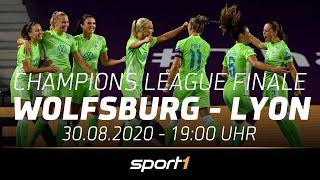 LIVE 🔴 | VfL Wolfsburg - Olympique Lyon | UEFA Women's Champions League | SPORT1
