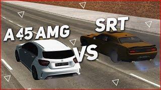ВЕЛИКАЯ ГОНКА! A45 AMG VS SRT! МЕНЯ ЗАТРОЛЛИЛИ! (CRMP   GTA-RP)