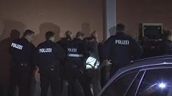 Tankstellenraub - 20 Polizeiwagen im Einsatz - 3 Festnahmen in Bonn-Tannenbusch am 12.04.17