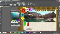 MAGIX Photo & Graphic Designer 7 ( taitto/kuvan suunnitelu, video englanniksi )