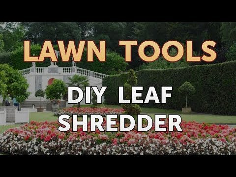 DIY Leaf Shredder