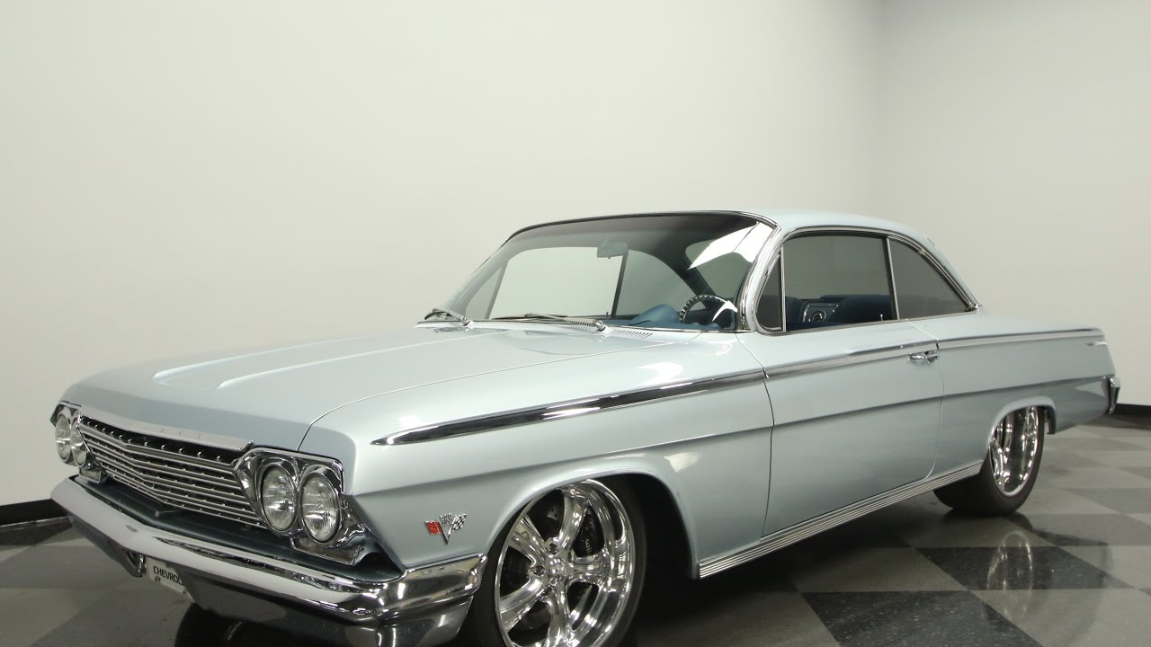 818 TPA 1962 Chevy Bel Air Bubbletop Restomod - YouTube