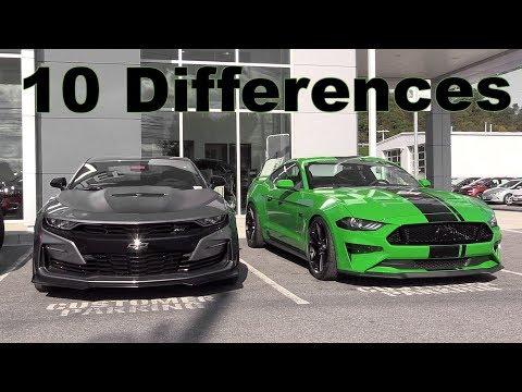 2019 Camaro SS vs. 2019 Mustang GT!