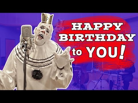 "Happy Birthday by Puddles (""Sad Clown With The Golden Voice"" version)"