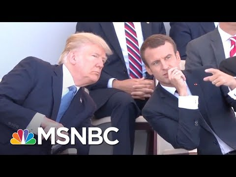 Donald Trump Wants A Military Parade Through Washington | The 11th Hour | MSNBC
