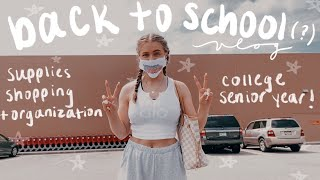 BACK TO SCHOOL: supplies shopping, organizing my desk & other prep (2020)