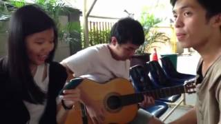 Caroline Chandra Marcel cover Souljah- Bersamamu(acoustic)