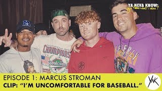 "Marcus Stroman ""I'm Uncomfortable for Baseball"" 
