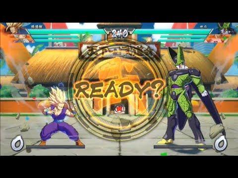 Dragon Ball FIghterz – Demo Gameplay #1 | Vegeta, Gohan, Frieza vs Perfect Cell, Goku, Majin Buu