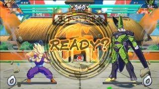 Dragon Ball FIghterz - Demo Gameplay #1 | Vegeta, Gohan, Frieza vs Perfect Cell, Goku, Majin Buu