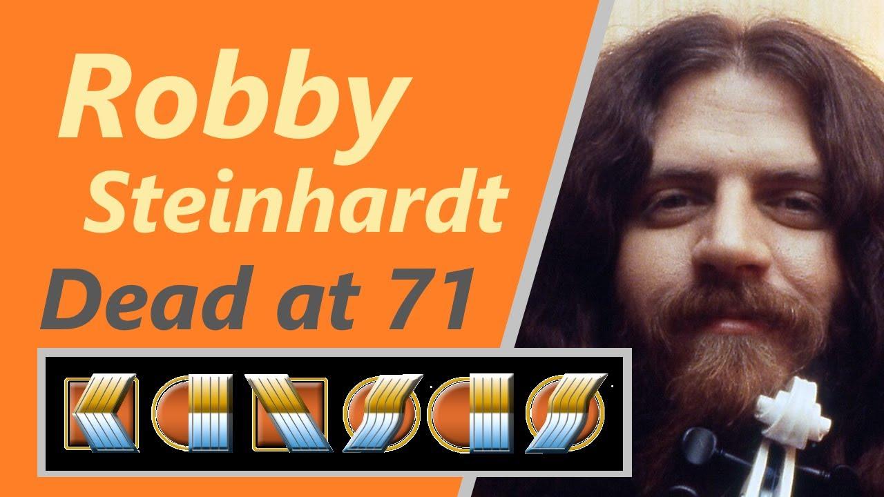 'Kansas' rock violinist, singer Robby Steinhardt, dies at 71