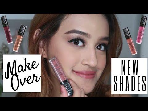 makeover-intense-matte-lip-cream-new-shades!-9-20-swatches-|-nadya-aqilla