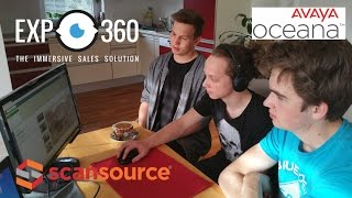 EXP360 & Scansource Deliver Immersive Experiences