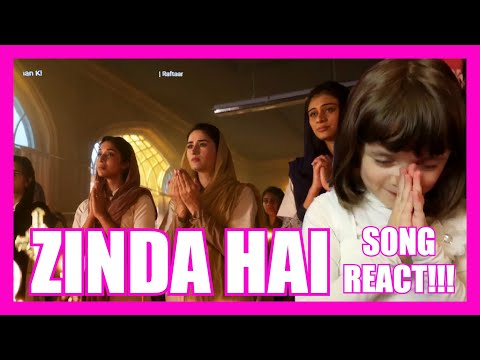 ZINDA HAI Song REACTION!!! Tiger Zinda Hai