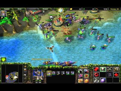 Прохождение Warcraft 3: The Frozen Throne - Таинственные острова #2