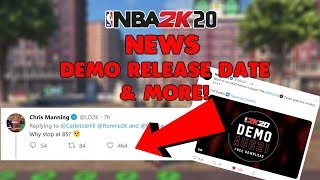 NBA 2K20 PRELUDE/DEMO RELEASE DATE - LD2K CONFIRMS BEING ABLE TO MAKE MUTIPLE BUILDS & MORE!