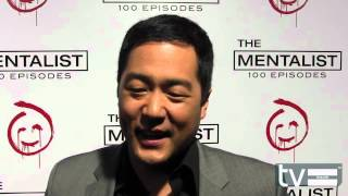 Tim Kang at The Mentalist Season 5 100th Episode Party