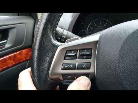 Subaru Outback New Radio GPS