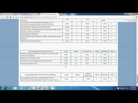 Service Tax payment, how to pay service tax online, Service tax