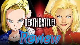 Death Battle Review: Android 18 VS Captain Marvel