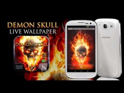Demon Skull Android Live Wallpaper