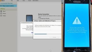 Samsung Galaxy J5 J500F - How to restore original firmware with Samsung Kies 3