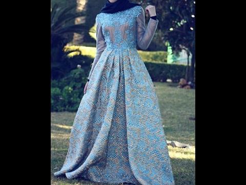 e0f295871f Maxi Dress Hijab Lookbook فساتين طويلة للمحجبات -3 - - YouTube
