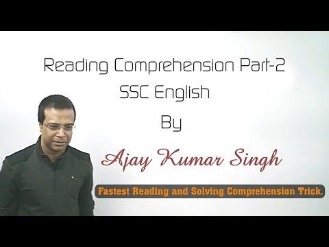 Reading Comprehension Part 2 By Ajay Kumar Singh II MB Books Pvt Ltd