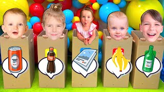 Five Kids Clean Up Song (Home Edition) + more Children's Songs and Videos