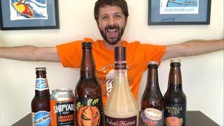 Pumpkin Beer & Liqueur Livestream Taste Test to Celebrate 60,000 Subscribers!