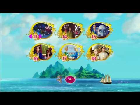 Barbie as The Island Princess DVD Menu