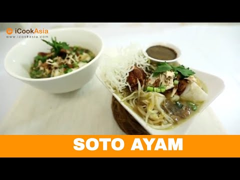 Resepi Soto Ayam | Try Masak | iCookAsia