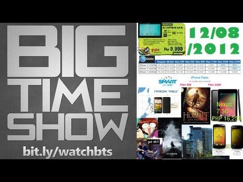 BTS 12/8/2012 - #BTSiPhone5 vs. Smart vs. Globe (LTE?), #SCUMJAMDAY, & More!