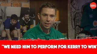 Marc O Se tackles Cooper, Clifford and his Kerry v Dublin past