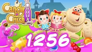 Candy Crush Soda Saga Level 1256