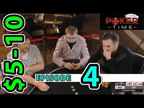 Poker Time: $5-10 with Brandon Cantu (Episode 4)