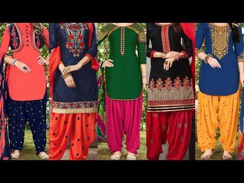 Latest Punjabi Patiala Suit Online Shopping New Design Patiyala Dress HQ Images Winsant Stores