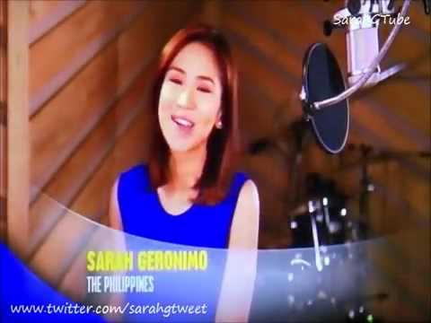 Sarah Geronimo - The Glow MV Teaser - Disney Channel (Nov 2014)