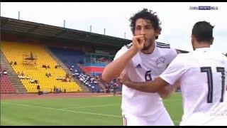 اهداف منتخب مصر ومنتخب سوازيلاند احمد حجازي تصفيات امم افريقيا 2019