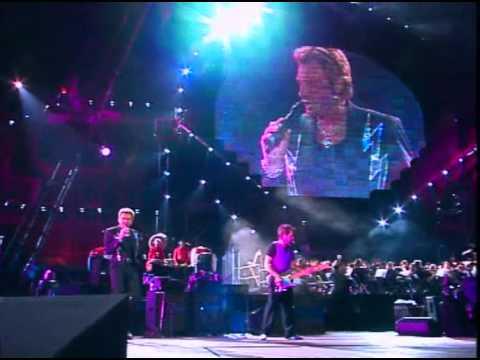 JOHNNY HALLYDAY - Que je t'aime (live symphonique)