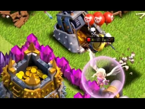 Skeleton Trap Attack Fly Clash of Clans